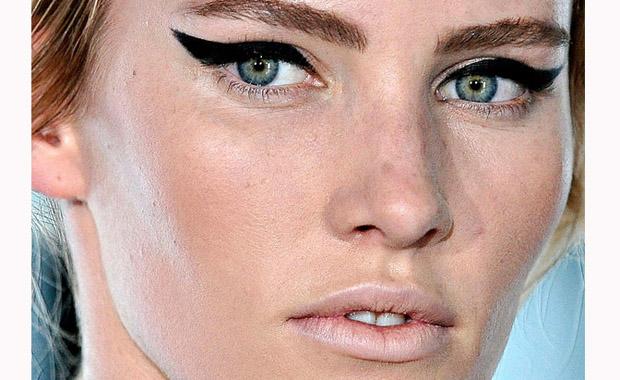 Get the look: Winged Eyeliner
