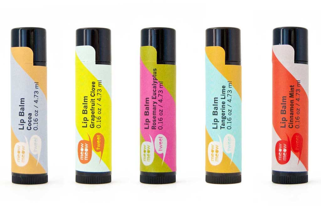 Product of the month… Meow Meow Tweet Lip Balm