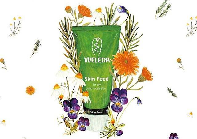 How many uses for Weleda Skin Food…