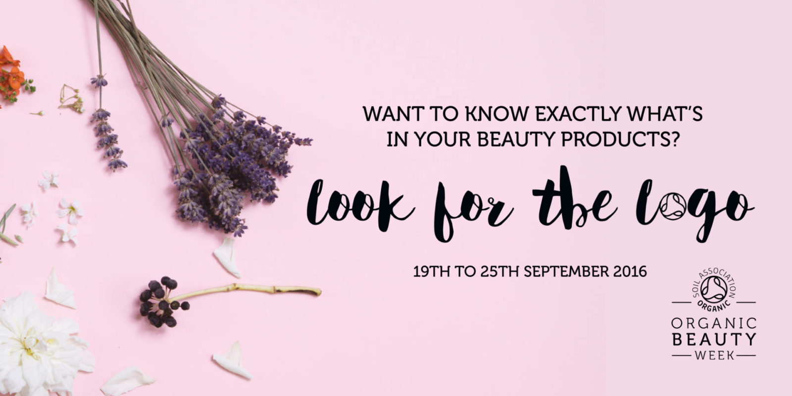 Organic Beauty Week starts today…