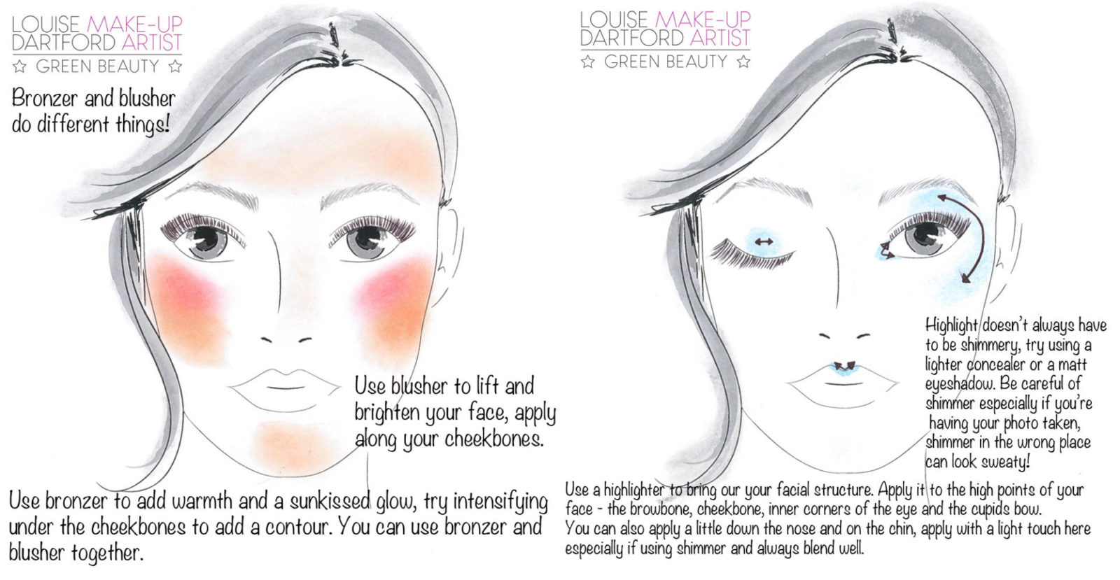 August's Instagram make-up tips..