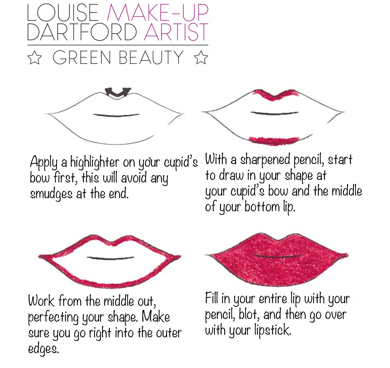 lip step by step