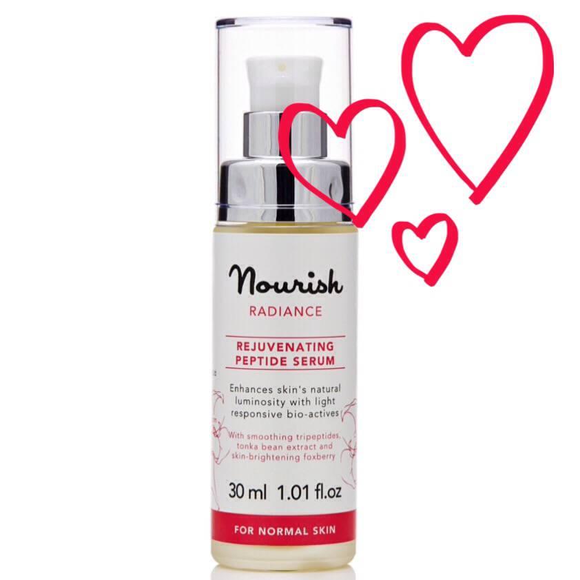 Nourish Radiance Rejuvenating Peptide Serum..