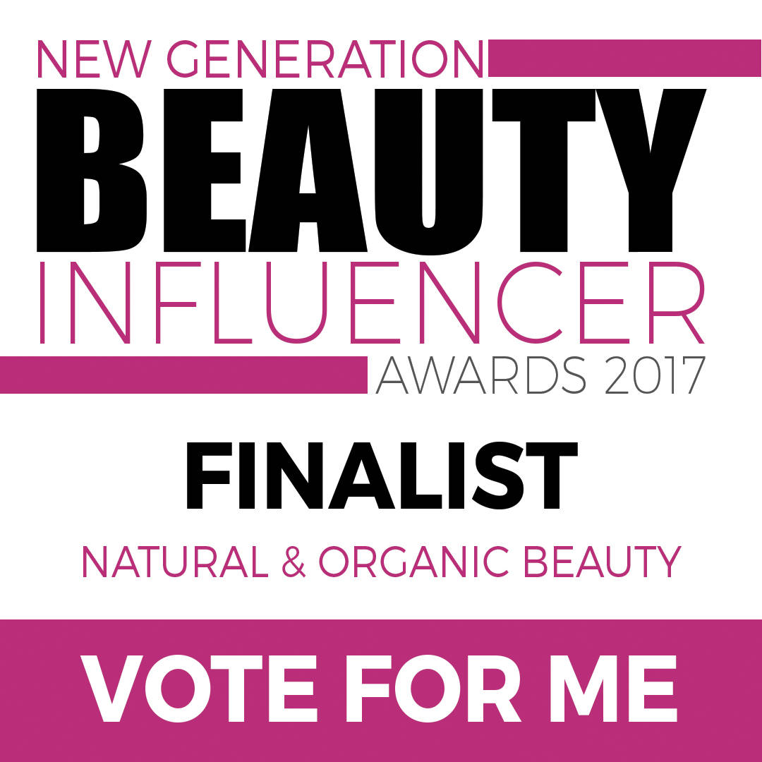 Very chuffed to be nominated – could I please ask you for a little vote? :)