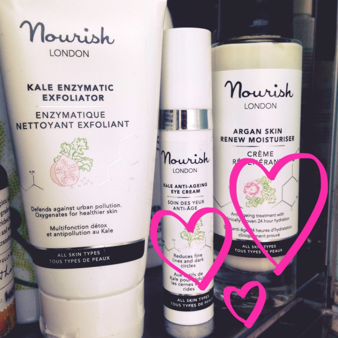 Nourish London – organic skincare….