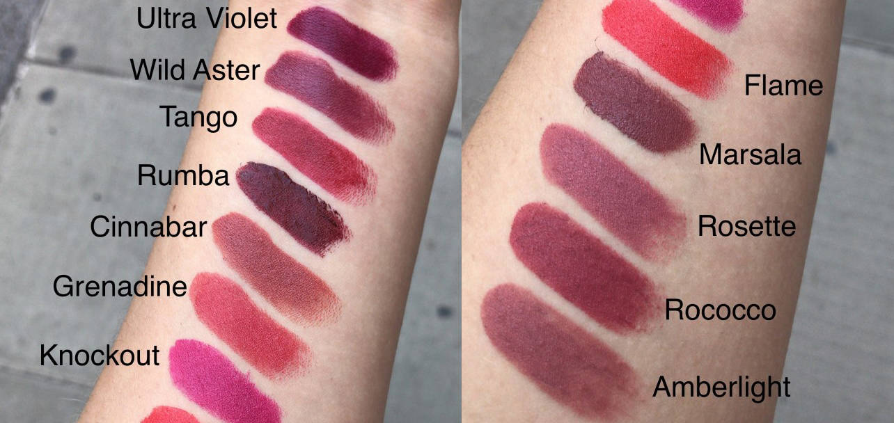 Ilia Color Block Lipsticks..